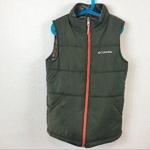 Reversible Columbia Boys 10/12 Vest